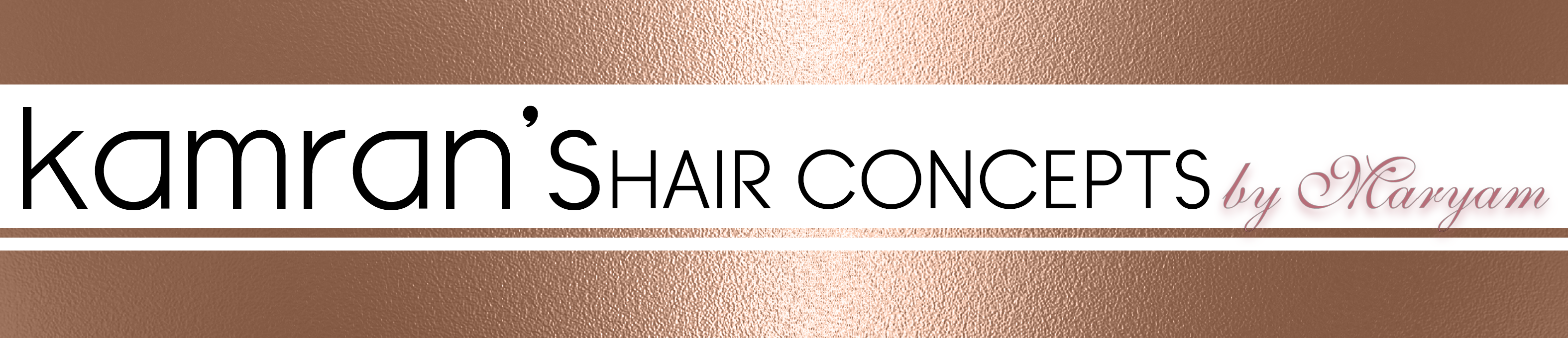 Kamran's Hair Concepts by Maryam